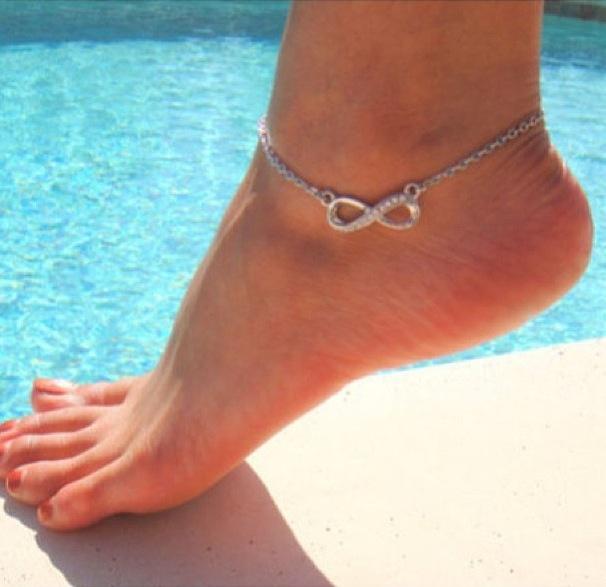 Infinity Ankle Bracelet My Style Pinterest Anklets Jewelry And Bracelets