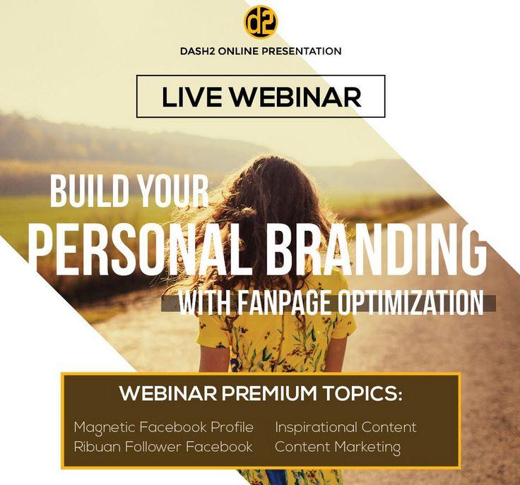 LIVE Free Webinar facebook personal branding