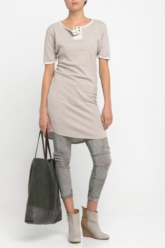 Sweat dress AIDA (flour)