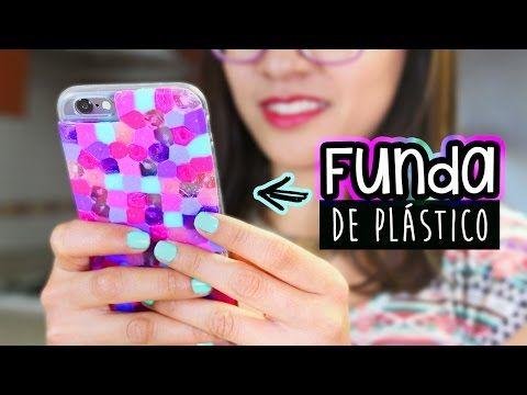 Fundas para celular de pl stico casero f cil y original - Plastico inyectado casero ...
