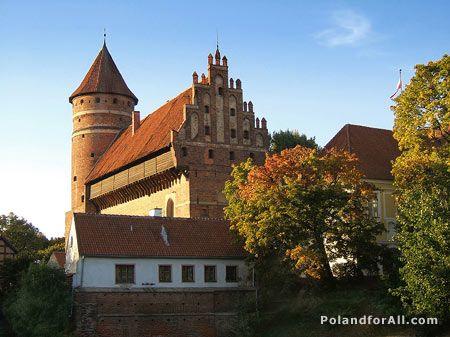 Olsztyn gothic castle