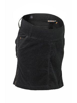 Brooklyn Maternity Corduroy Skirt (Xlarge (14), Black) Noppies. $70.00