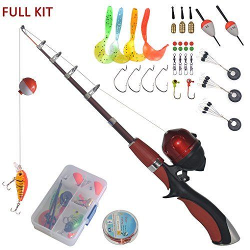 Best 25 fishing poles ideas on pinterest fishing pole for Kids fishing kit