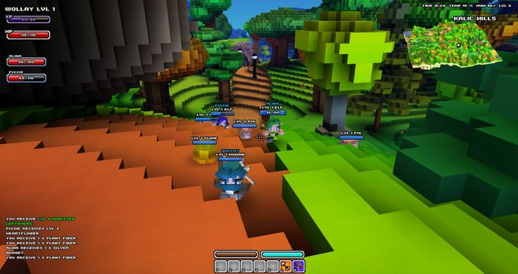 Cube World, indie game, independent, voxel game