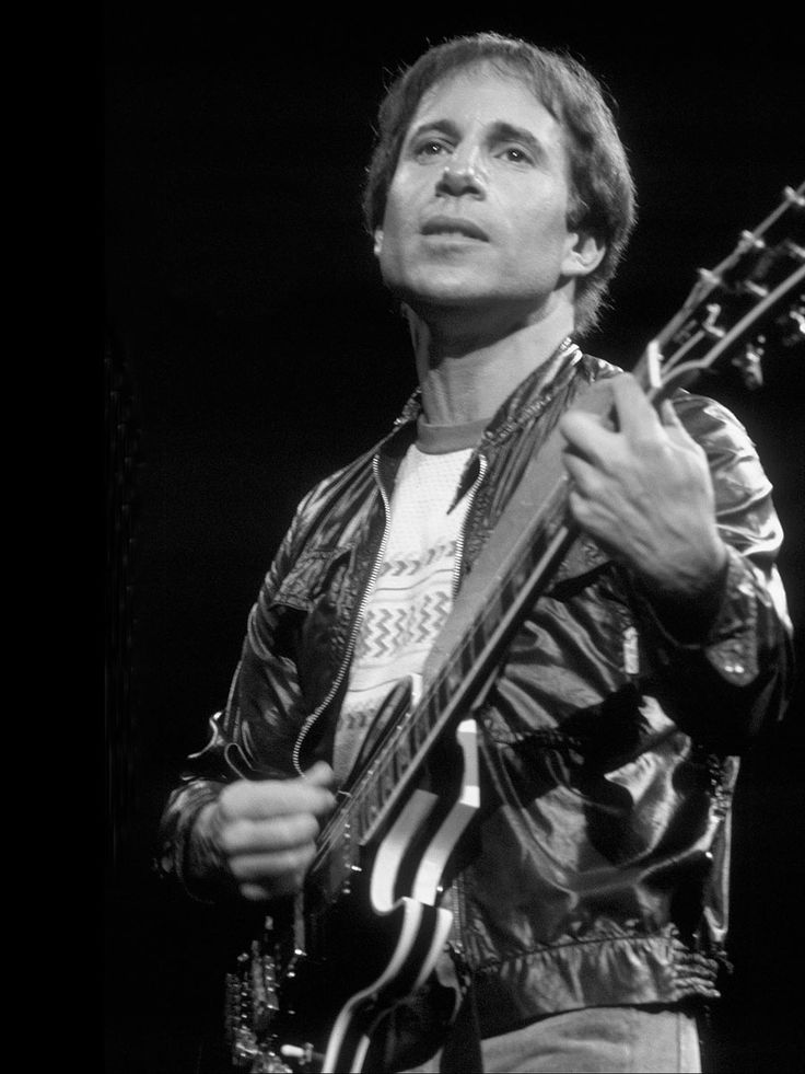 Paul Simon - one of my favourite musicians. Graceland is one of my favourite albums.