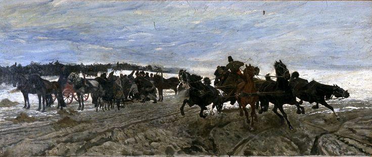 Russian Horse Fair - Josef Chelmonski | FAMSF Explore the Art