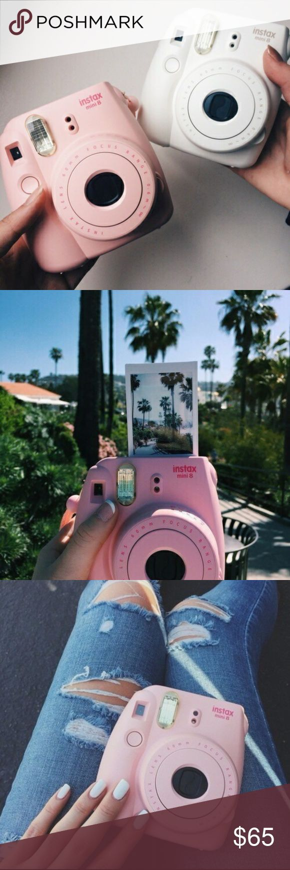 pink instax mini brand new, never been opened, comes with batteries and strap. I can sell for cheaper on Ⓜ️ercari and 🅿️ayPal Brandy Melville Other