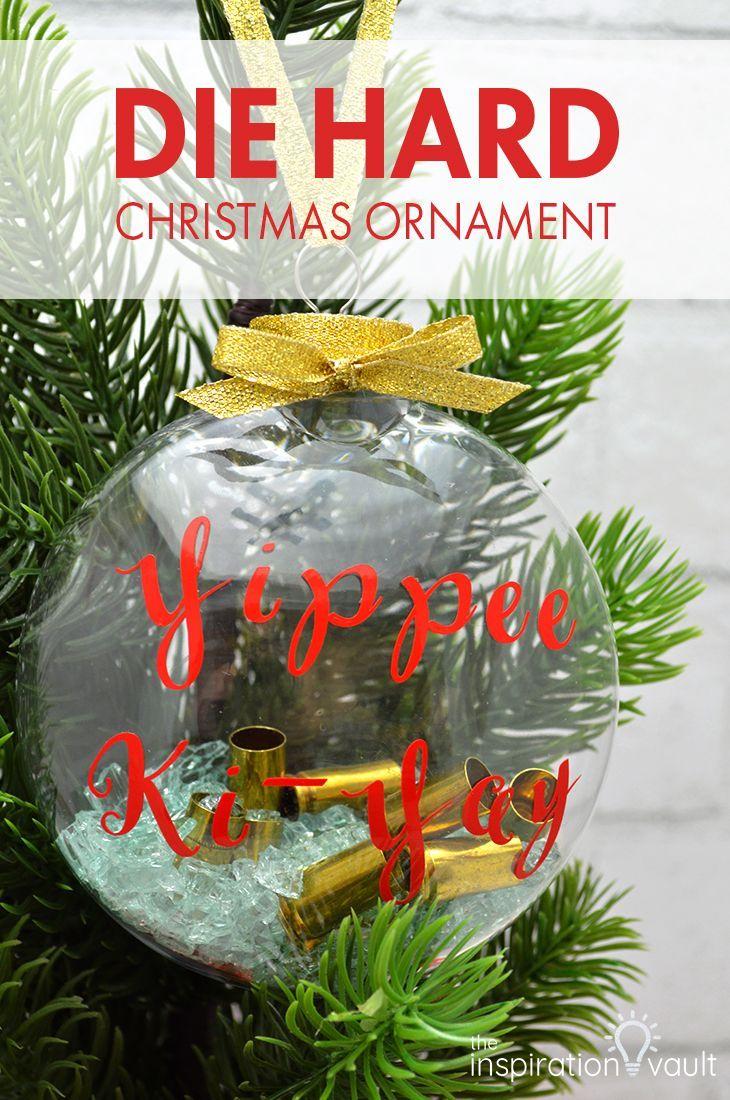 Die Hard Christmas Ornament Die Hard Christmas Christmas Ornaments Christmas Diy