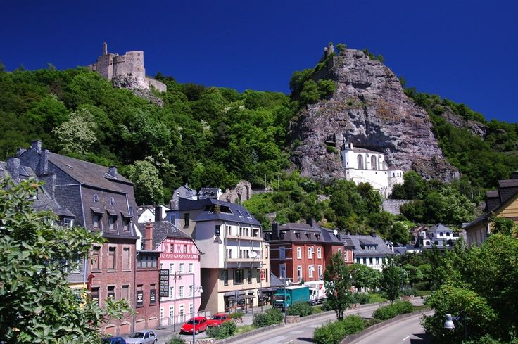 Idar-Oberstein, Germany  Can you believe I used to live near this place, and I traveled there all the time.  Loved the cobble stone streets, the people, and of course the castle and church!