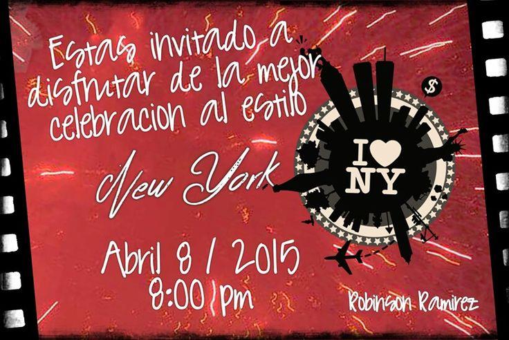 Invitación Fiesta New York