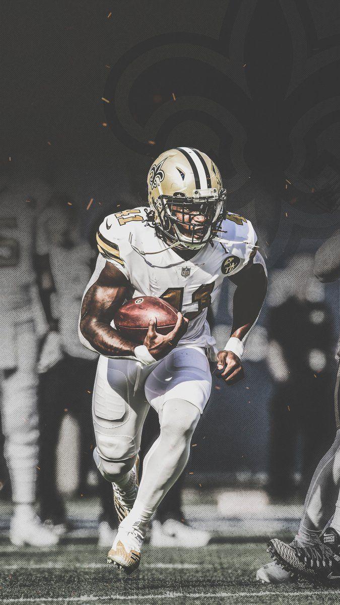 Alvin Kamara New Orleans Saints Football Saints Football Nfl Football Wallpaper