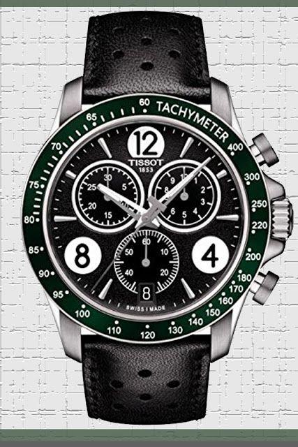 Tissot V8 T106.417.16.057.00 Black/Black Leather Analog Quartz Men's Watch Price:     $266.53 & FREE Returns #LuxuryTissotWatches #TissotWatches #LuxuryWatches #MensWatches