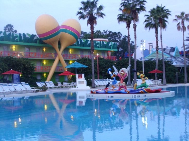 Disney's All-Star Music Resort – hotel categoria econômica no Walt Disney World