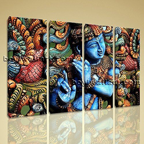 Framelessoil Paintings Canvas Colorful Buddha Sitting Wall: 10+ Ideas About Buddha Decor On Pinterest