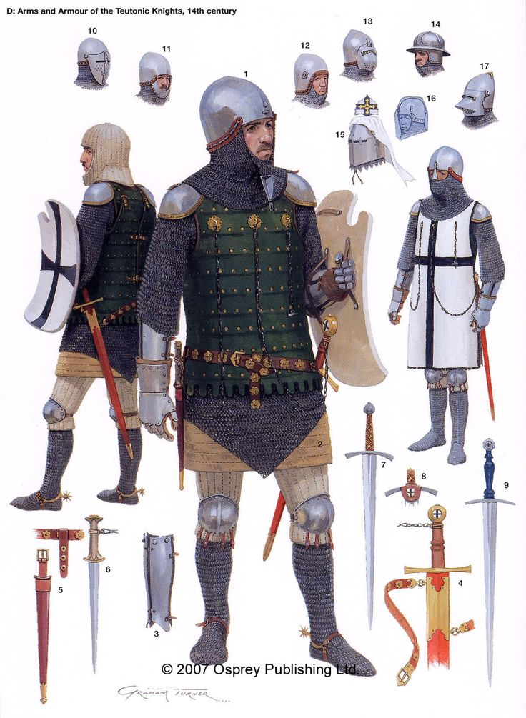 Knight of the South East with more plate than some of the poorer knights