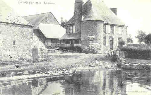 Lesbois - Le Manoir (1910)