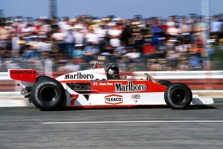 James Hunt, McLarenFord M26, 1978 French GP, Le Castellet