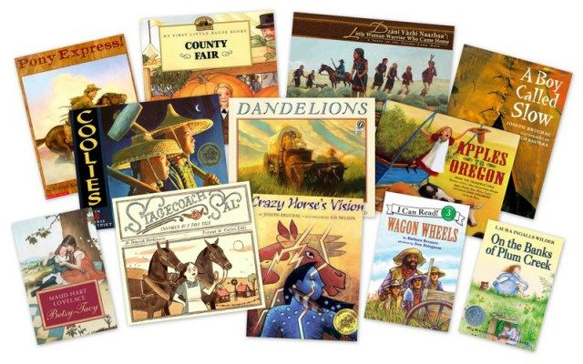 Frontier Life and Native American books for kids from 1850 through 1900 from Delightful Children's Books.