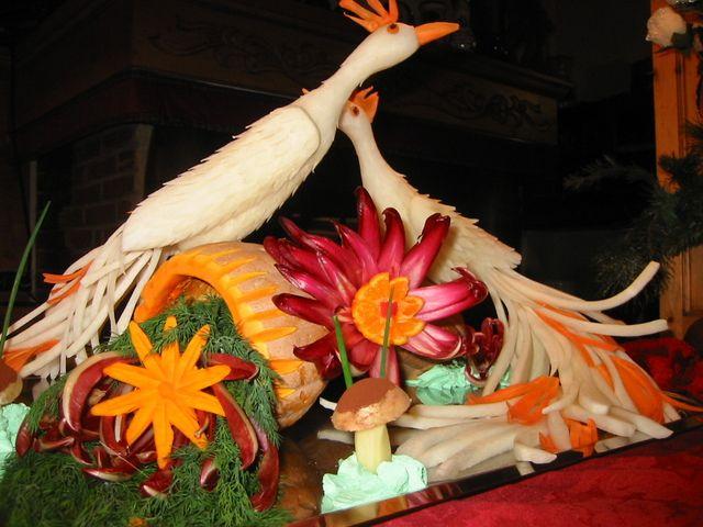 Fruit and vegetables as a sculpture - Frutta e vegetali come una scultura