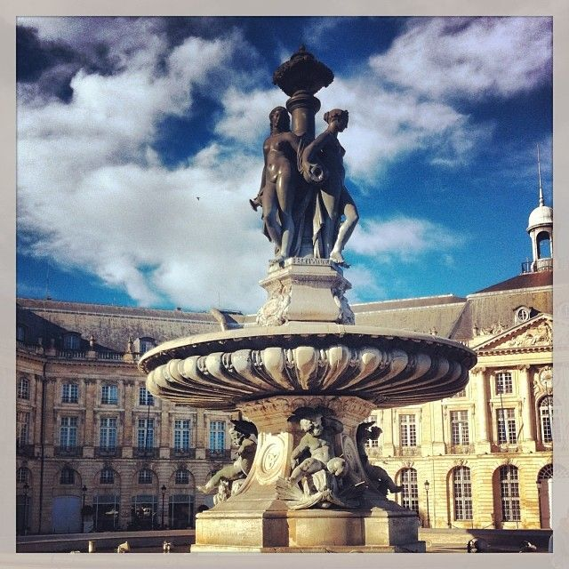 Place de la Bourse. Bordeaux