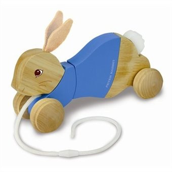 Perfect Easter gift for my little girl:)  She has a Peter Rabbit nursery.