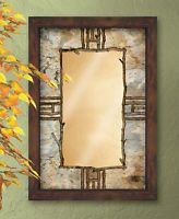 Hardwood Forest Framed Mirror by Susan Knowles Jordan- Item #5386493504