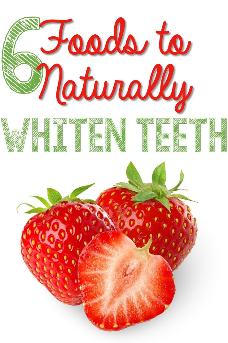 Foods for White Teeth
