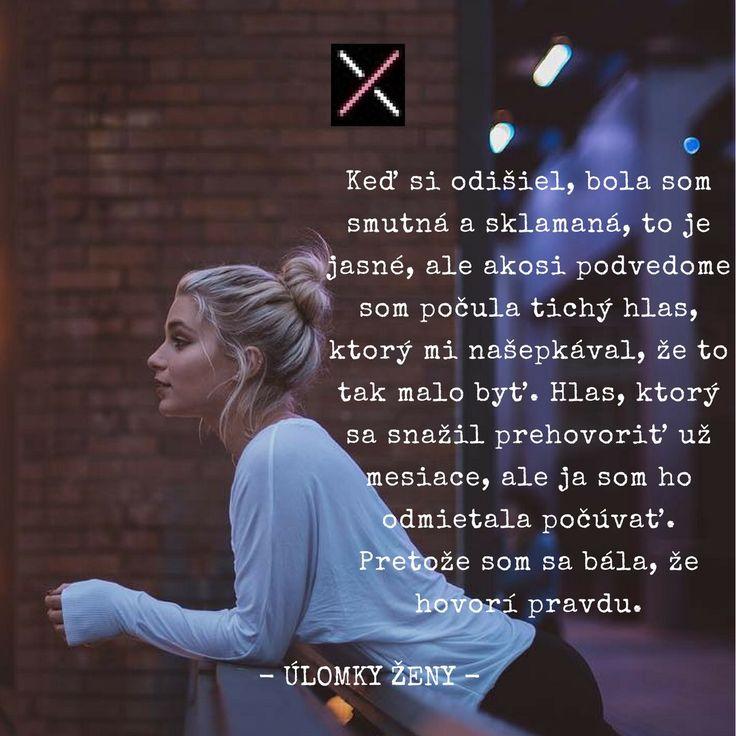 #ulomkyzeny #citat #kniha #dnescitam #dnespisem #ulomky #zivot #laska #bolest #hnev #vyhra www.ulomkyzeny.sk