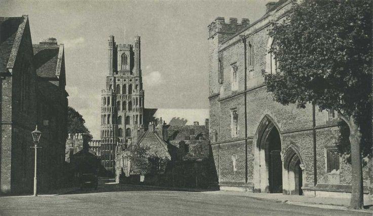 Cambridgeshire, Ely - a village city in Fenland c1930's 1280pix.jpg 1,280×745 pixels