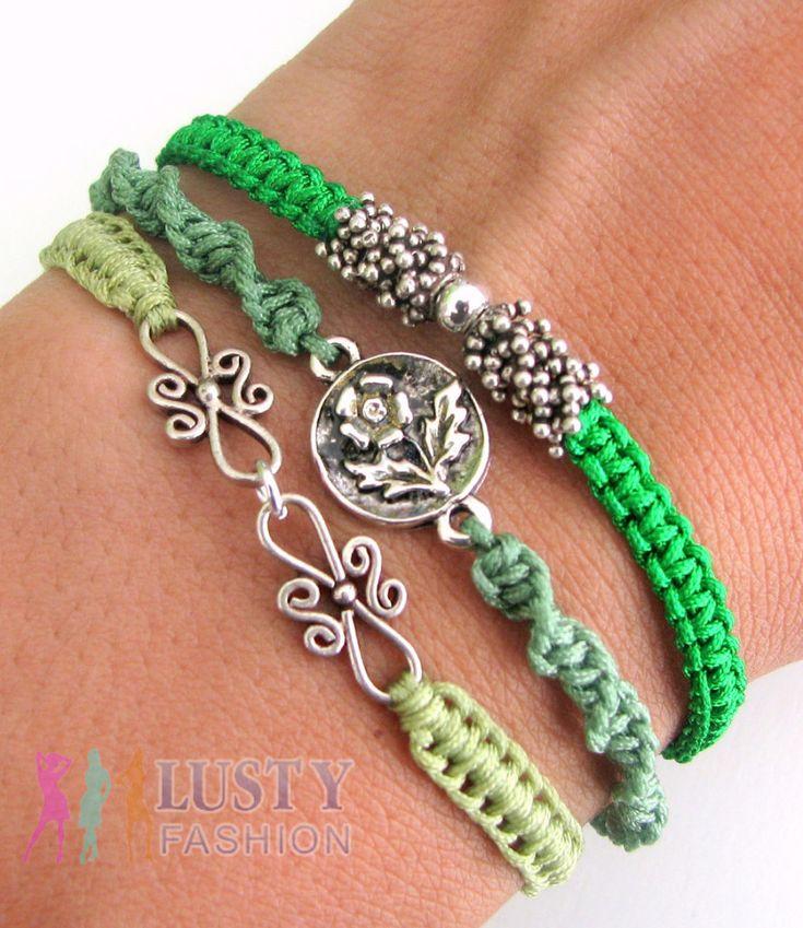 silver and metal bracelet stacks