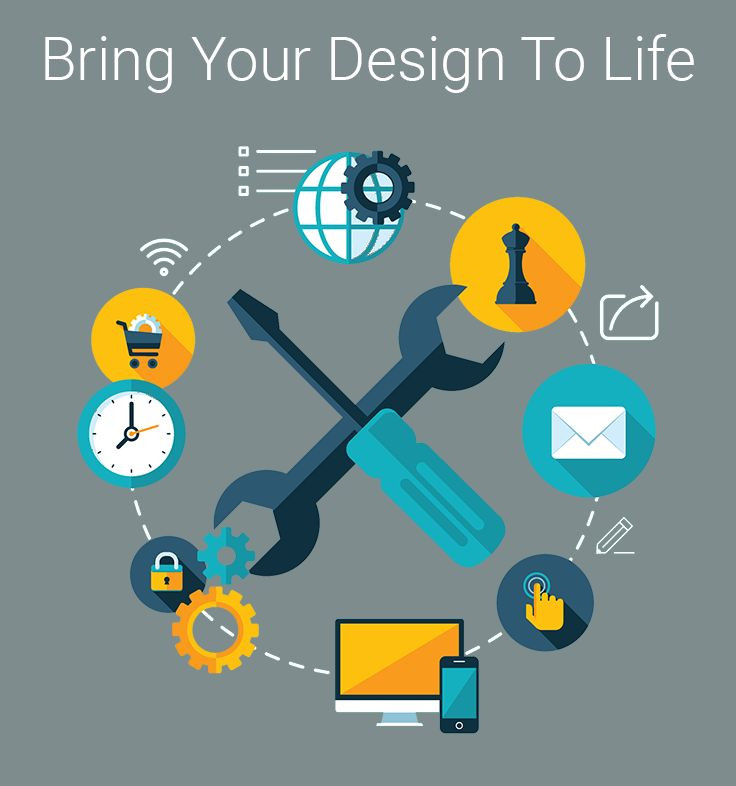 Proficiency in web development allows us to give your design the functionality it needs while simultaneously optimizing its performance.