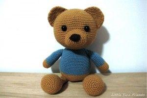 Urso Teddy | Amigurumi Brasil – AmiBR