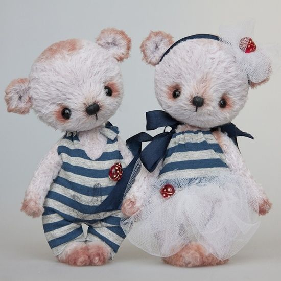 by Irina Pestova - teddy bears by JustLinnea