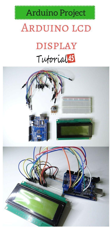 Arduino Projects Arduino Lcd Display Arduino Projects Arduino Lcd Arduino Projects Diy