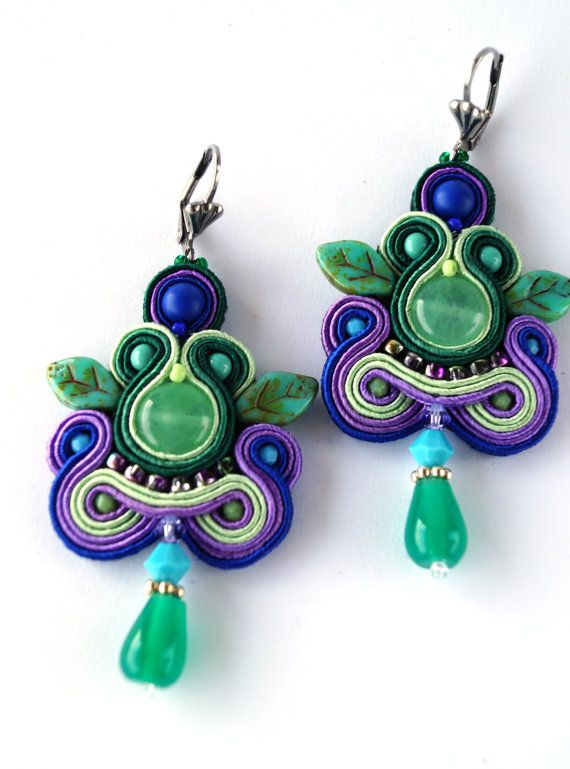 NEW SUMMER STYLE soutache earrings