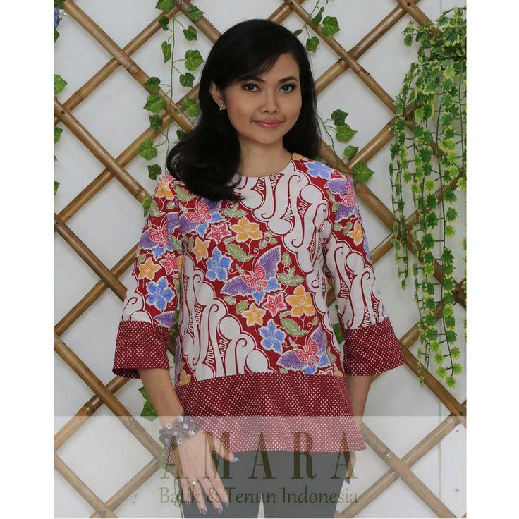 Parang Kupu - Red www.amarabatik.com