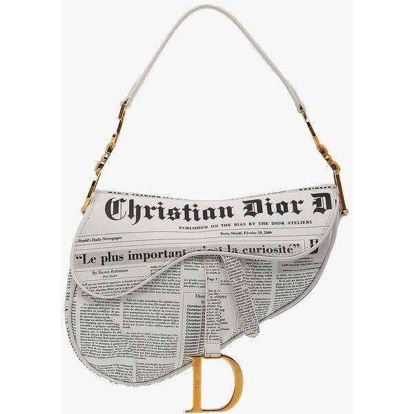 aaa50e368c Image result for Christian Dior Newspaper Saddle Bag | Style in 2019 ...
