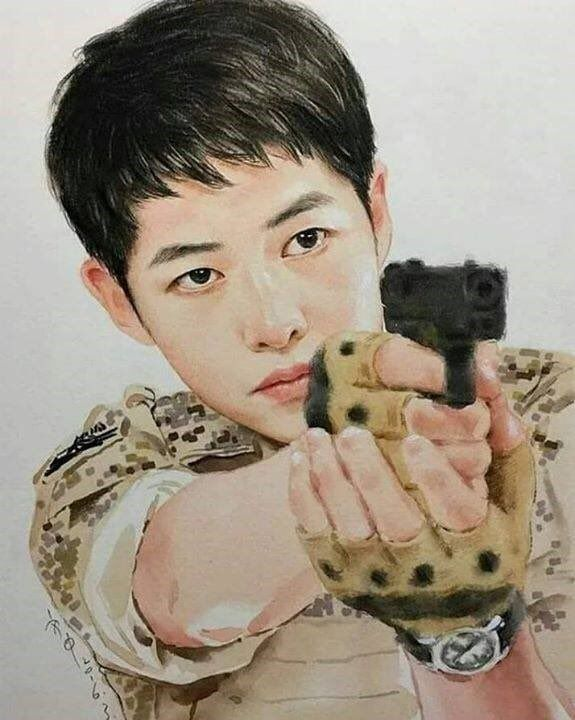 Song Joong Ki, awesome fanart !