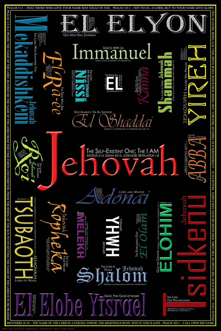Jehovah: Names Of God, God Words, God Theword, God Is, Christian Quotes, Jesus Christ, Scripture, Jehovah, Christian Posters