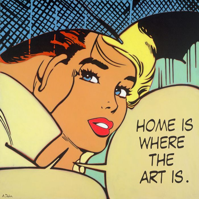 Alan Delon : Brand New Pop Art Limited Edition, available from Tusk Gallery