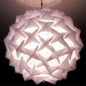 Make this stunning designer-look origami paper lantern in this step-by-step tutorial.