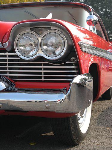 Christine 58 Fury engine pics | 1958 Plymouth Fury Christine Movie Car