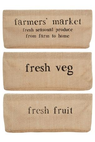 for the shelves in the utility room Buy Hessian Baskets Set Of 3 from the Next UK online shop