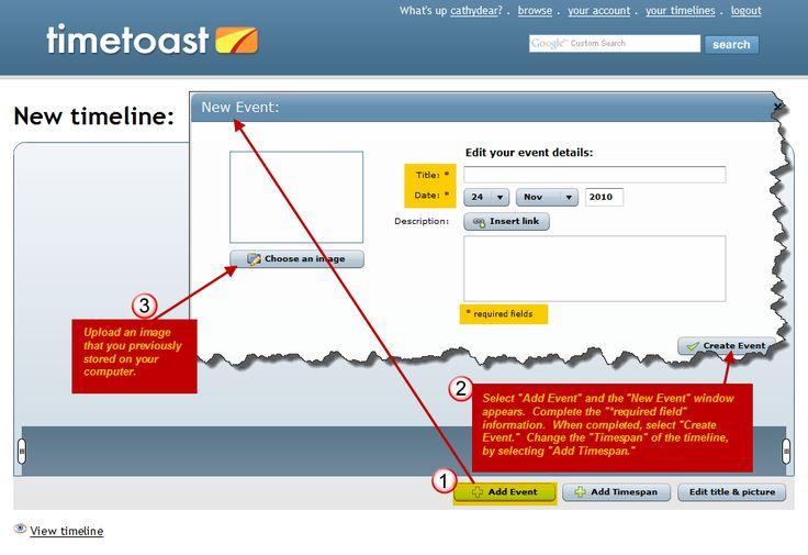 Timetoast's free timeline maker lets you create timelines online.