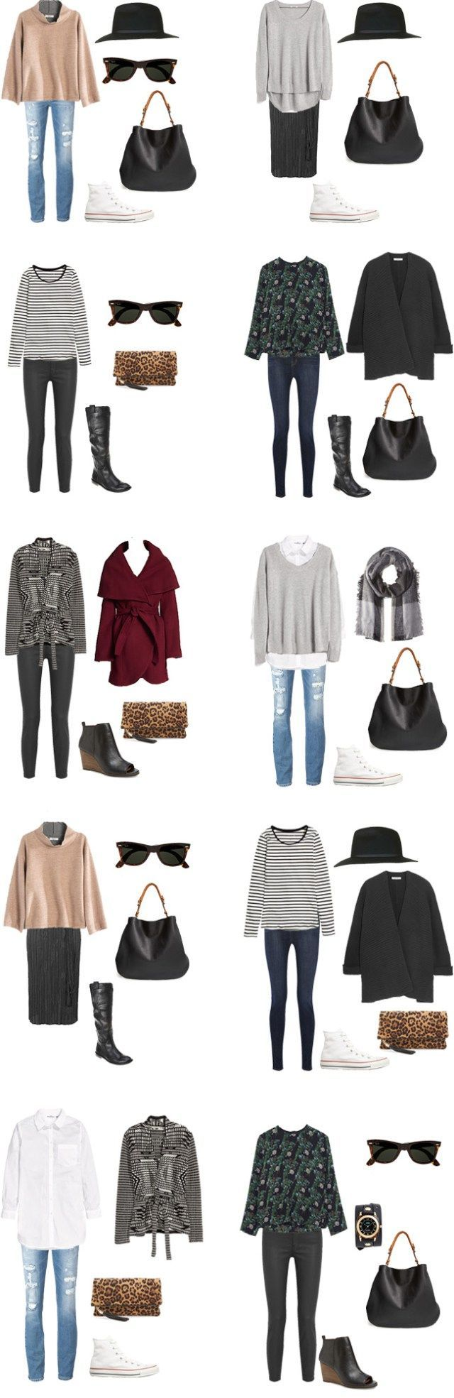 What to Wear in San Francisco Outfit 11-20 #travellight #packinglight #packinglist #traveltips