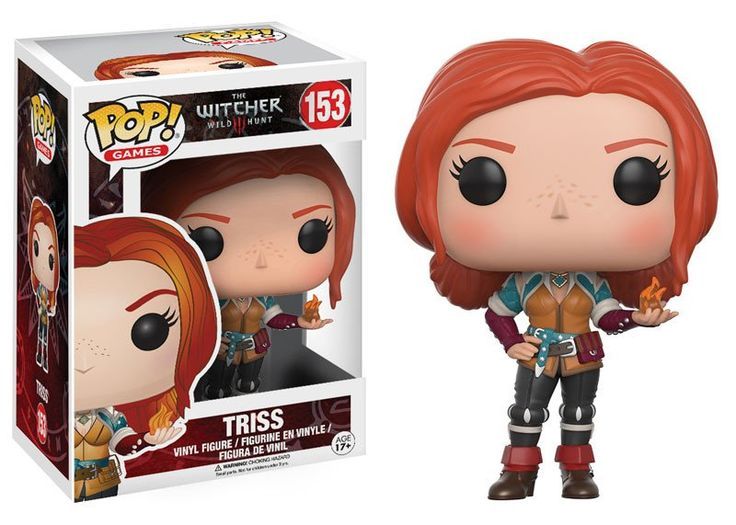 Pop! Games: The Witcher - Triss