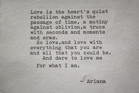 love poem love poetry original art typography print