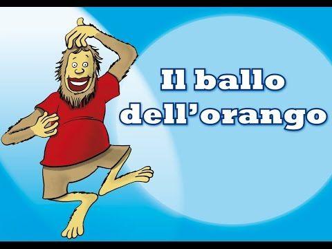 Gli animali ballerini - Il ballo dell'orango. Canzoni e coreografie per bambini di Mela Music - YouTube