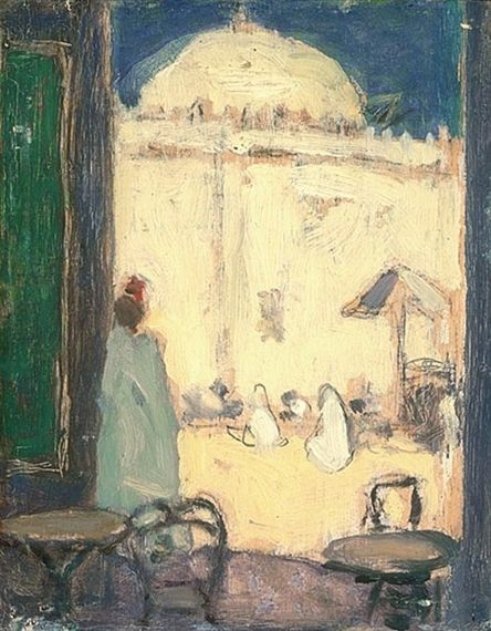 James Wilson Morrice, The Mosque, Tunis