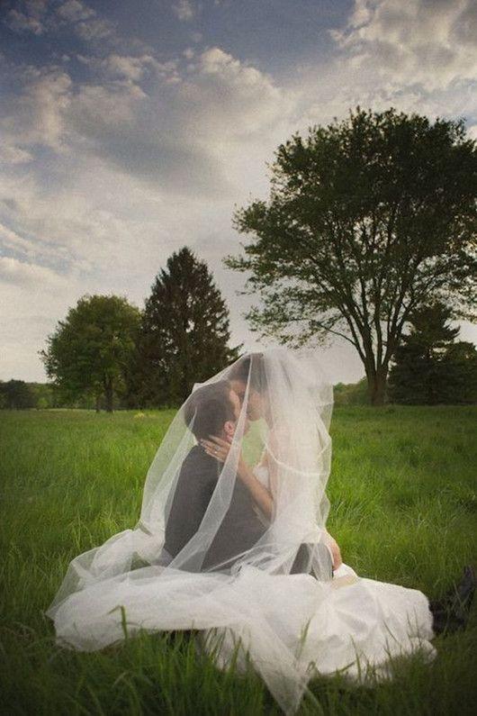 amazing wedding photo poses bridal veil